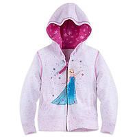 Худи для девочки 5/6 лет Эльза Холодное сердце Дисней / Frozen Hoodie Disney