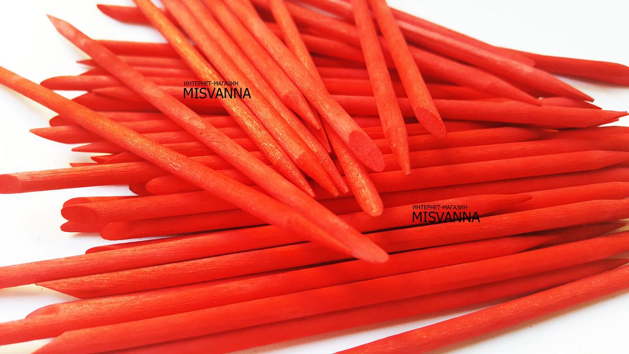 Апельсиновые палочки красные 50 шт