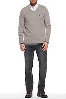 Мужской свитер De Facto светло-серого цвета XL