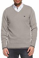 Мужской свитер De Facto светло-серого цвета