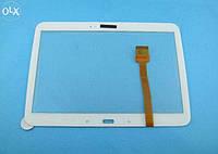 Тачскрин для Samsung P5200 Galaxy Tab 3 10.1/P5210, белый, оригинал (Китай)