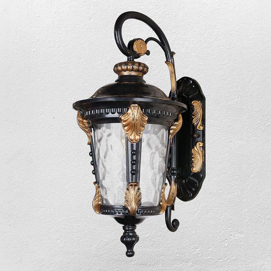 Садово-парковый светильник , бра ( модель 60-VDJ006-M-W GB+BK  E27 )