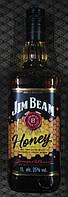Американский бурбон медовый Jim Beam Honey 1л
