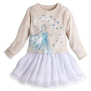 Платье для девочки 9/10 лет Эльза Холодное сердце Дисней / Frozen Dress Disney