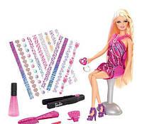 """Кукла Барби """"Студия окрашивания волос"""" Тату салон / Barbie Hair Tattoos"""