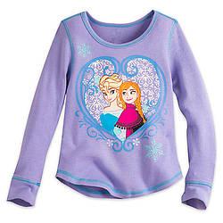 Кофта  Холодное сердце 7/8 лет Анна и Эльза Frozen Disney
