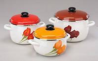 Танго Набор посуды 6 предметов емаль Epos