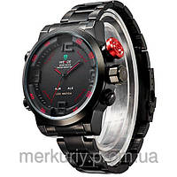 Мужские молодежные наручные  спортивные водонепроницаемые часы WEIDE Sport Watch