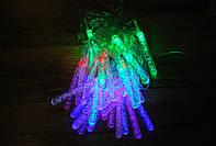 Гирлянда светодиодная сосульки 40 LED мульти 5,8 метров