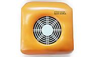 Вытяжка для маникюра (маленькая) 25х20х8,5 см Absorb Dustmachine оранжевый