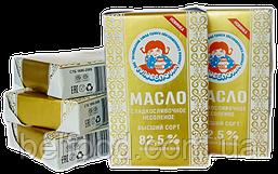 Масло сладкосливочное несоленое, 82,5 %
