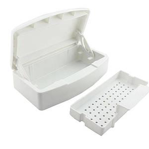 Контейнер (емкость) для замачивания и дезинфекции инструментов с прозрачной крышкой