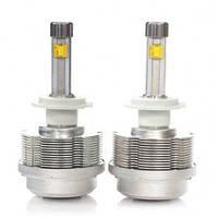 Светодиодные автомобильные лампы Н1,Н3,Н7,Н9,Н11 и т.д  с кулером охлаждения .