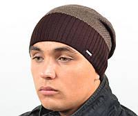 "Шапка для мужчин ""Лонде"" коричневый  меланж. Мужские шапки. Шапки."