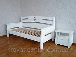 """Кровать односпальная """"Луи Дюпон"""". Массив - сосна, ольха, береза, дуб., фото 3"""