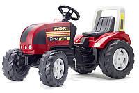 Детский трактор на педалях Falk Farm Trac красный