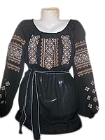 """Жіноча вишита блузка """"Чарівний узор"""" (Женская вышитая блузка """"Волшебный узор"""") BL-0007"""