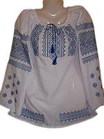 """Жіноча вишита блузка """"Ніжний узор"""" (Женская вышитая блузка """"Нежный узор"""") BL-0004"""