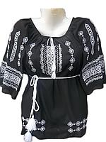 """Жіноча вишита блузка """"Холодний узор"""" (Женская вышитая блузка """"холодный узор"""") BL-0010"""