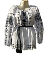 """Жіноча вишита блузка """"Красивий узор"""" (Женская вышитая блузка """"Красивый узор"""") BL-0021"""