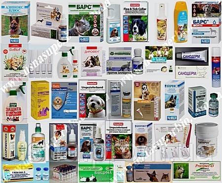 Продаем в широком ассортименте ветпрепараты для лечения собак и кошек