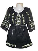 """Жіноча вишита блузка """"Мелодія троянд"""" (Женская вышитая блузка """"Мелодия роз"""") BL-0031"""