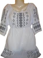 """Жіноча вишита блузка """"Делікатний узор"""" (Женская вышитая блузка """"Деликатный узор"""") BL-0032"""