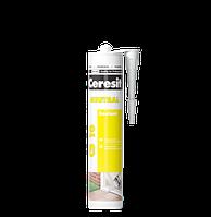 Универсальный силиконовый нейтральный герметик CS 16 Ceresit