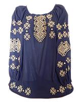 "Жіноча вишита блузка ""Класичний орнамент"" (Женская вышитая блузка ""Классический орнамент"") BL-0037"