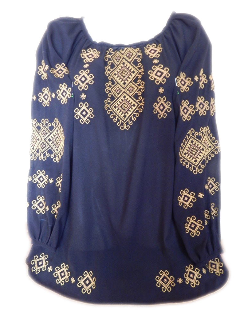 """Жіноча вишита сорочка (блузка) """"Класичний орнамент"""" (Женская вышитая рубашка (блузка) """"Классический орнамент"""") BL-0037"""