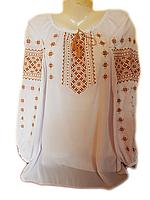 "Жіноча вишита блузка ""Класичний узор"" (Женская вышитая блузка ""Классический узор"") BL-0039"