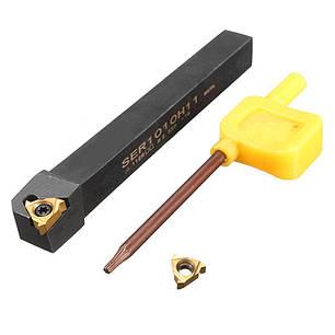 SER2525M22 Державка токарная (резец) для нарезания резьбы , фото 2