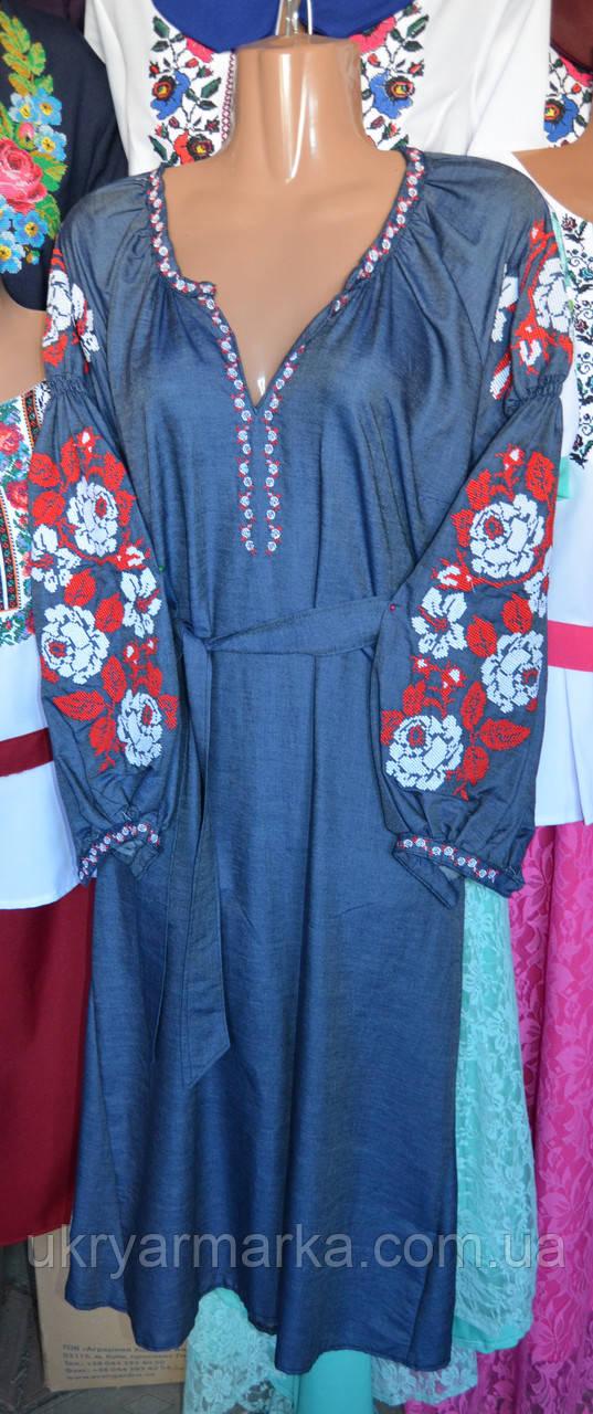 """Сукня вишита в стилі бохо """"Коломийка"""""""