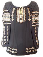 """Жіноча вишита блузка """"Виразний узор"""" (Женская вышитая блузка """"Выразительный узор"""") BL-0041"""