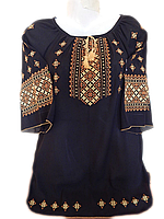 """Жіноча вишита блузка """"Чудесний узор"""" (Женская вышитая блузка """"Чудесный узор"""") BL-0044"""