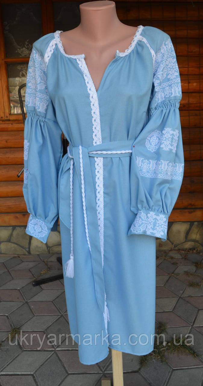 """Плаття в стилі бохо """"Волинські мотиви"""""""