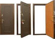 Двери: метал/метал, метал/ МДФ накладка, метал+стекло и ковка .