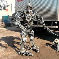 Кованый робот на заказ в Херсоне [купить стоимость цена]