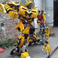 Заказать кованого робота в Херсоне с доставкой и монтажом  [купить стоимость цена]