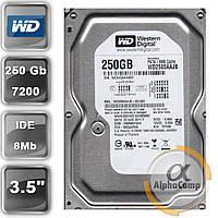 "Жесткий диск 3.5"" 250Gb WD WD2500AAJB (8Mb/7200/IDE) БУ"