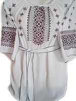 """Жіноча вишита блузка """"Вишневий орнамент"""" (Женская вышитая блузка """"Вишневый орнамент"""") BL-0058"""