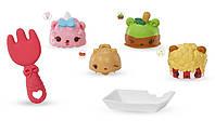 Набор ароматных игрушек NUM NOMS S2  ПРАЗДНИЧНОЕ УГОЩЕНИЕ  3 нама, 1 ном, с аксессуарами (544159)