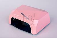 УФ LED+CCFL лампа для гель-лаков и геля 36 Вт, с таймером 10, 30 и 60 сек. (pink)
