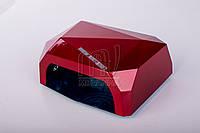 УФ LED+CCFL лампа для гель-лаков и геля 36 Вт, с таймером 10, 30 и 60 сек. (red)