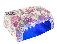 УФ LED+CCFL лампа для гель-лаков и геля 36 Вт (романтический сад)