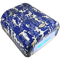 УФ лампа на 36 Вт, 230 модель с таймером на 120 сек (military blue)