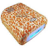УФ лампа на 36 Вт, 230 модель с таймером на 120 сек (orange flowers)
