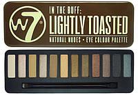 Тени для век W7 In The Buff: Lightly Toasted палитра 12 оттенков (альтернатива NAKED)