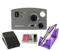 Профессиональная фрезерная машина Nail Master DM-211 для маникюра и педикюра 30 Вт и 35000 об./мин. (grey)