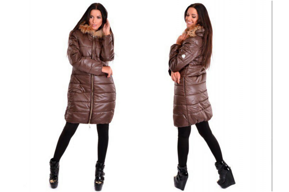 Женская  зиняя куртка  подобного типа Монклер - Web-покупки УСПЕХ - Модная одежда оптом и в розницу  в Киеве